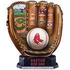 Red Sox Cold Cast Bronze Commemorative Baseball Glove Sculpture