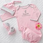 Personalized Welcome Home Baby Gift Set for Girls
