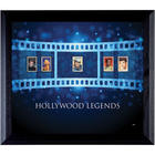 Hollywood Legends in Stamps Framed Art