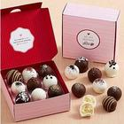 18 Piece Valentine's Cake Truffles Gift Box