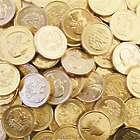 1 Pound of Gold Half Dollar Coin Chocolate Candies