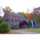 Photograph of Grist Mill in Sudbury, Massachusetts