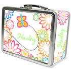 Personalized Flutterbees Lunch Box