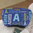 Personalized Repeating Name Lap Desk