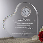 The Beauty of Friendship Heart Clock