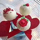 12 Valentine's Day Cake Pops