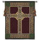 Celtic Cross and Knots Tapestry