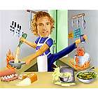 Male Super Chef Custom Photo Caricature Print
