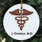 Medical Personalized Ceramic Ornament