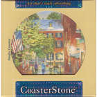 Boston Watercolor Coasterstone Coaster