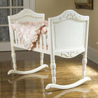 Antique Cradle in White