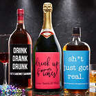 Personalized Expressions Liquor Bottle Label