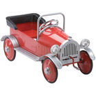 Red Sedan Pedal Car