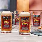 Personalized BBQ Masters Beer Glass