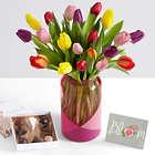 All-in-One 20 Multi-Colored Tulip Bouquet