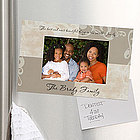 Photo Sentiments© Personalized Magnet Frame