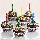 6 Handmade Birthday Cupcake Cake Pops