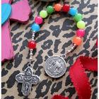 Child's Rainbow Pocket Rosary