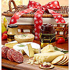 Grand Holiday Meat and Cheese Gift Basket