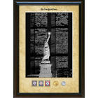 New York Times 'Liberty and the World Trade Center' Framed Photo