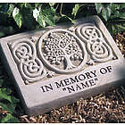 Personalized Celtic Tree In Memory Of Stone
