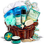 Bath Products Graduation Gift Basket for Her