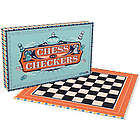 Ridley's Chess & Checkers Board Game