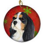 Cavalier Spaniel Snowflake Christmas Ornament