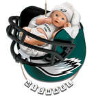 Philadelphia Eagles Baby's First Christmas Ornament