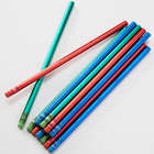 12 Personalized Bold and Fun Metallic Pencils