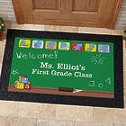 Teacher's Little Learners Personalized Doormat