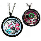 Personalized Charm Locket Necklace for Teens