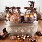 Caramel Apple Snowflake Basket