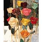 Natural 24k Gold Trimmed Rose
