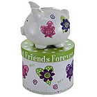 Personalized Mini Best Friends Forever Piggy Bank