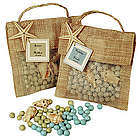 Potpourri and Seashell Beach Sachet Favor