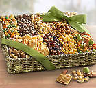 Deluxe Savory Snack Gift Basket