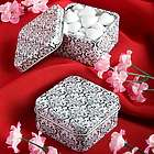 Damask Candy Tin Favor Box