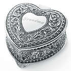 Genoa Heart Vintage Jewelry Box