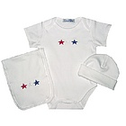 Fourth of July Layette Set
