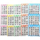 1500 Bingo Paper Cards