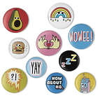 Vibe Squad Kawaii Cute Badges