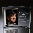 Memorial Glass Vertical 5x7 Photo Frame