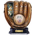 Mickey Mantle Cold Cast Bronze Baseball Glove Sculpture