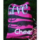 Personalized Live Love Cheer Drawstring Tote