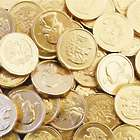 Chocolate Coins Gold Half Dollars 10oz Bag