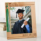Graduation Tassel Display Personalized Picture Frame