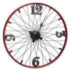 Bicycle Wheel Metal Wall Clock