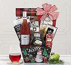 Jolly Steeplechase Rose Gift Basket