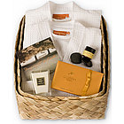Weekend Getaway for Two Robe Gift Basket